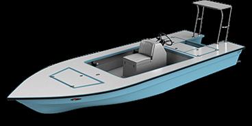skiff - guide 3d render