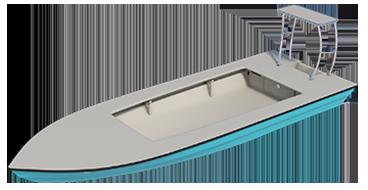 skiff - eldora 3d render