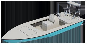 skiff - marquesa 3d render